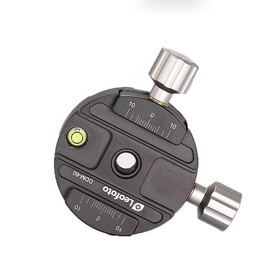 Leofoto DDM-60 Dual Discal Clamp QP-70 with plate