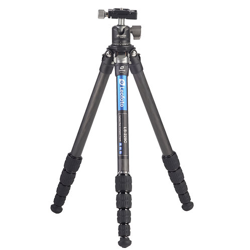 Leofoto LS-225C+LH-25 22mm 5 section compact Tripod with Ball Head
