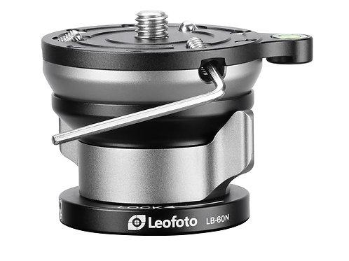 Leofoto LB-60N 60mm +/-15 deg, Levelling Base