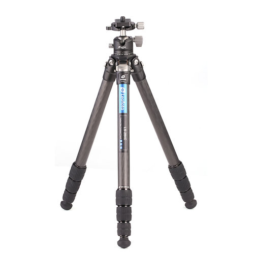Leofoto LS-284C+LH-30 28mm 4 Sec Carbon Fibre w/ LH-30 Ball Head + centre column