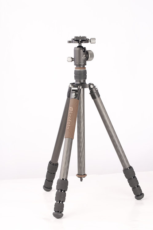 Leofoto LX-254CT+XB32 25mm 4 Section Compact Carbon Fibre Tripod w/ Ball Head