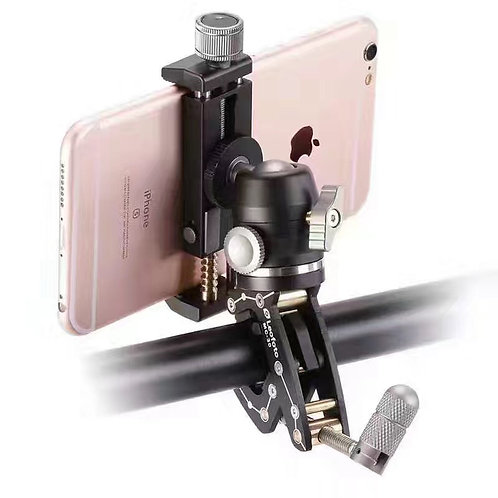 Leofoto MC-30KIT Multipurpose Clamp Kit with Phone Holder