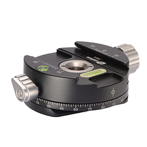 Leofoto PAN-01 Panning Clamp with Arca Dovetail and QR plate with QP-70 Plate