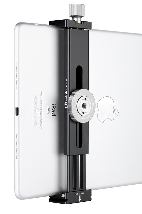 Leofoto PC-230 iPad Clamp 138-230mm with Arca Swiss Mounting Plate