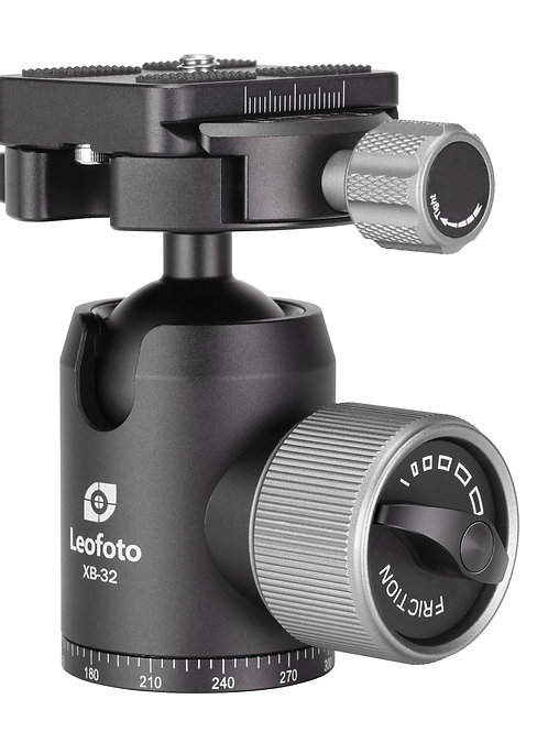 Leofoto XB-32 32mm Profile Ball Head with 50mm Clamp