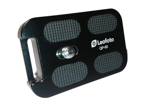 Leofoto QP-70 70mm Arca style with Scales Plate for Panoramic Clamp