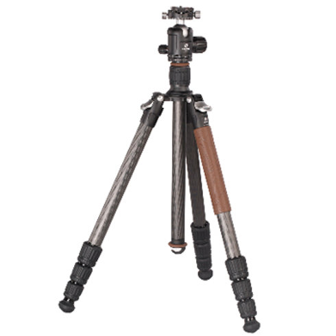 Leofoto LN-284CT+NB-40 28mm 4 Section Carbon Fibre Tripod Kit