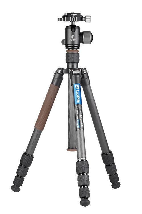 Leofoto LX-224CT with XB32Q Urban Series 22mm 4 Section Tripod Kit