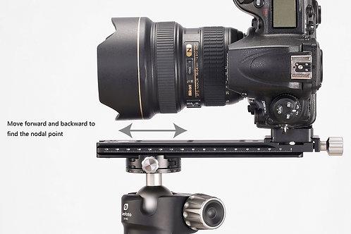 Leofoto NR-200 200mm nodal slide with clamp