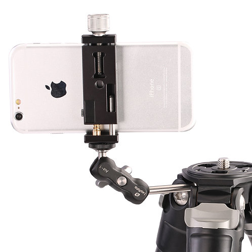 Leofoto AM-1 Magic Arm Phone Clamp Adaptor (1.5kg Load)