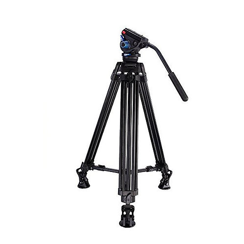 Leofoto VT-10 + LF-60 Video Tripod Kit with Video Head VT-10