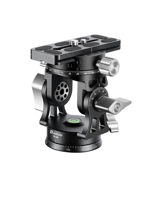 "Leofoto VH-30 60mm Monopod Head with 3/8"" Panning Base"