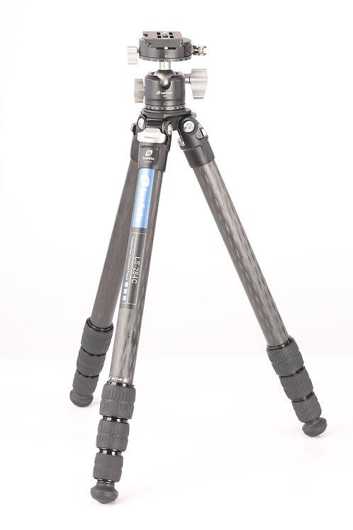 Leofoto LS-284C+LH-30PCL 28mm 4 Section Carbon Fibre Tripod w/ Ball Head