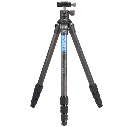 Leofoto LS-224C+LH-25 22mm 4 section Carbon Fibre Tripod w/ ball head