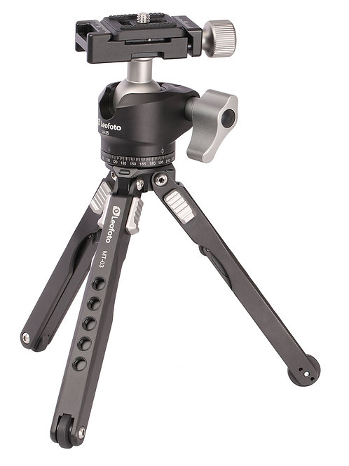 Leofoto MT-03+LH-25 Mini Table Tripod Kit w/ Ball Head