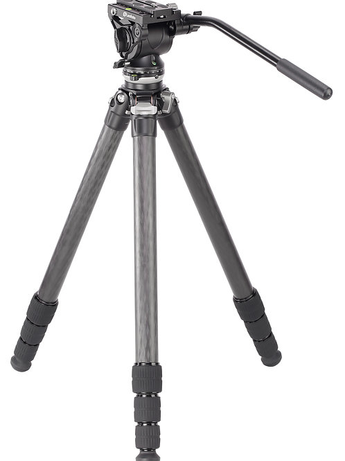 Leofoto LS-324CEX with BV-10 Ranger Levelling Series 32mm 4 Section Tripod Kit