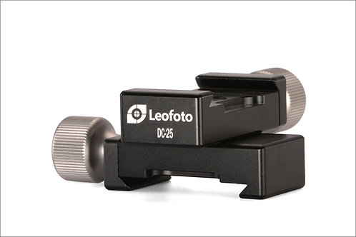 Leofoto DC-25 Mini Clamp with PU-25 Plate