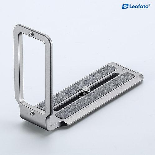 Leofoto UL-01T Titanium Universal Arca Swiss L Plate with 6mm thickness