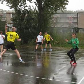 Handballers sv Conventus pakken natte overwinning op Vires et Celeritas