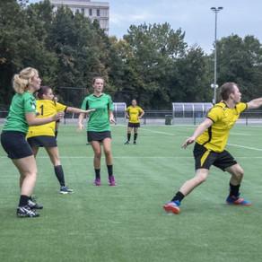 Sterke wedstrijd blijft onbeloond voor korfballers sv Conventus