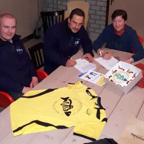 Van den Boogaart Visspecialiteiten sponsor Korfbal 1