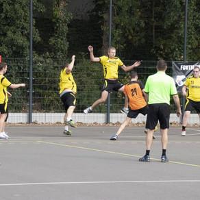 Handbalheren sv Conventus nipt tweede voor winterstop