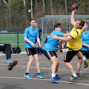 Handbalheren sv Conventus starten tweede deel veldseizoen met gelijkspel