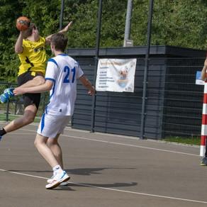 Goede wedstrijd brengt handballers sv Conventus naar ruime zege