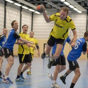 Sterk seizoen handbalheren sv Conventus brengt het team naar de tweede plaats