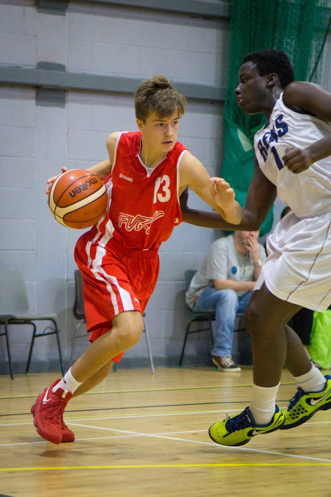 DAVIDSON HITS 29 IN BIG WIN FOR FURY CADET MEN 1