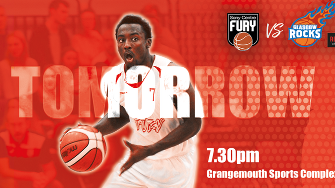 Remember we play Radisson RED Glasgow Rocks #GoFury