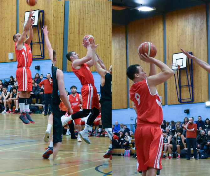 FURY HIT 16 THREES IN 27PT WIN OVER STUDENTS