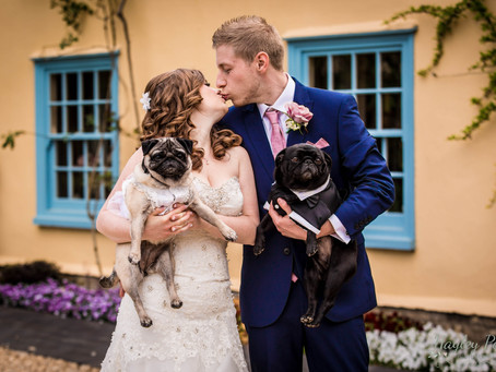 ***Amber & Jordan's Preview*** a Beautiful South Farm Wedding with Pugs!