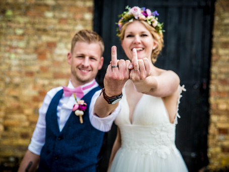 Sally & Adams Wedding Preview - A Humanist Ceremony at Cromwell Barns, Burleigh Farm