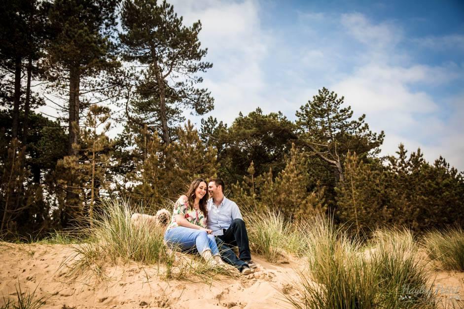 Holkham Beach Engagement Shoot