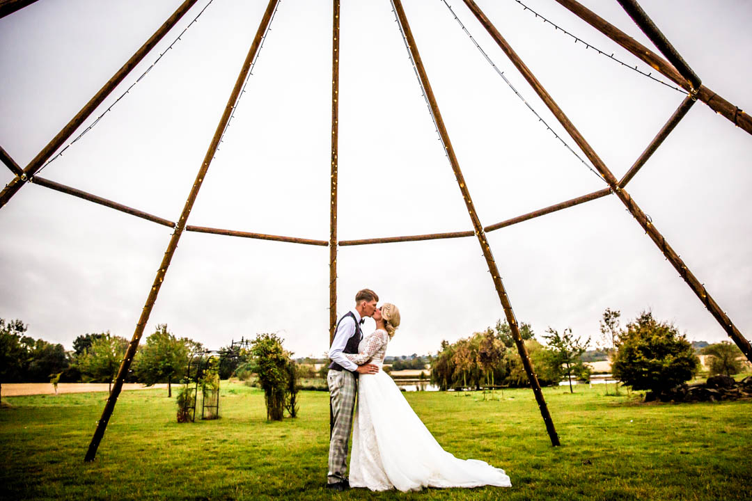Naked Tipi Wedding Photography