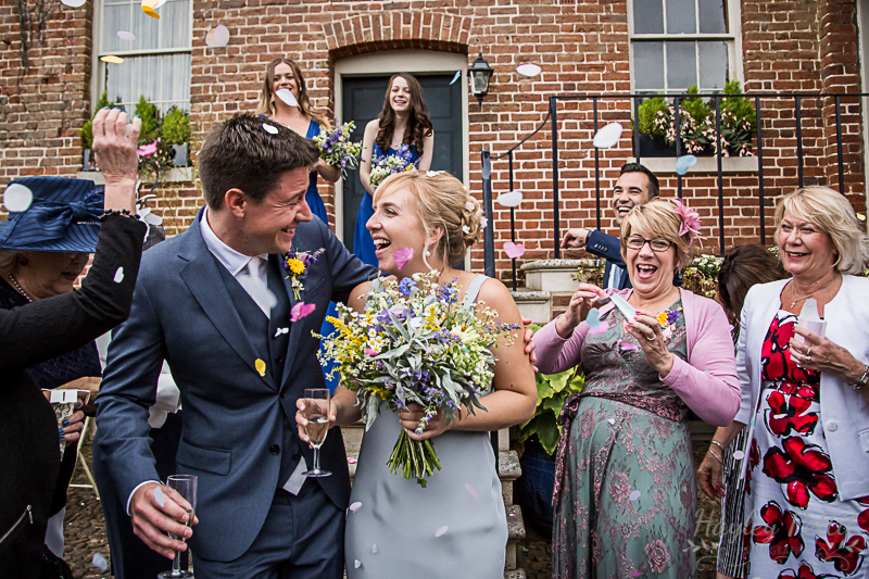 Shortmead House Wedding Confetti