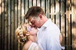 Glitter bar at wedding
