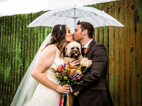 Lauren & Petes Preview- a Colourful Tipi Wedding at Sissons Farm