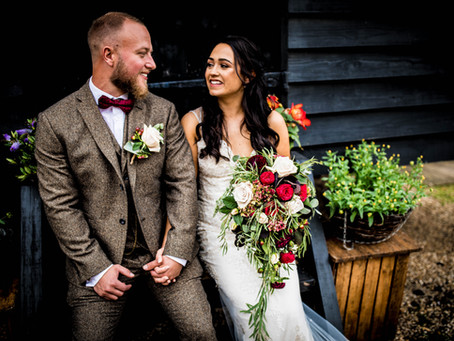 Ellie & Brads Barley Town House Wedding - A Preview