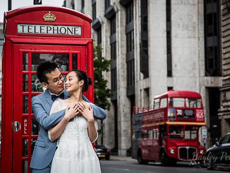 A Pre Wedding London Shoot