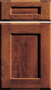 Monterey Door Cherry wood with Mission stain