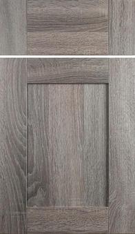Quinn Door Cottage Oak textured foil