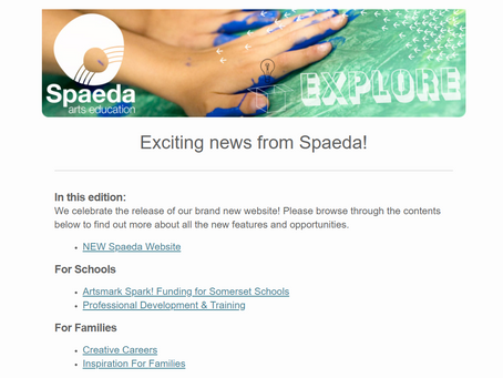 SPAEDA Newsletter March 2021