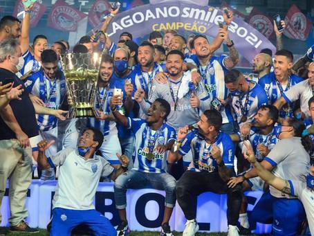 CSA é campeão do Campeonato Alagoano de Futebol em 2021