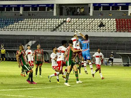 Apesar do empate, CRB segue na liderança do Campeonato Alagoano
