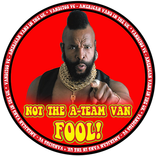 A-Team NOT! sticker
