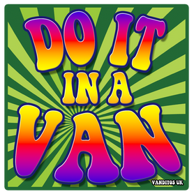 Sticker (do it in a van)