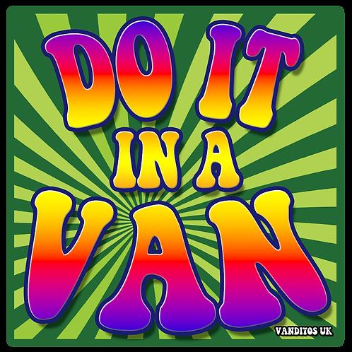 Do It In A Van Sticker