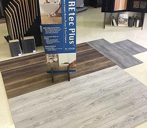 Coretec vinyl click-in flooring